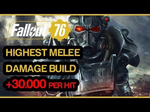 Download Fallout 76 Melee Build 2400 Damage Per Swing MP3, MKV, MP4