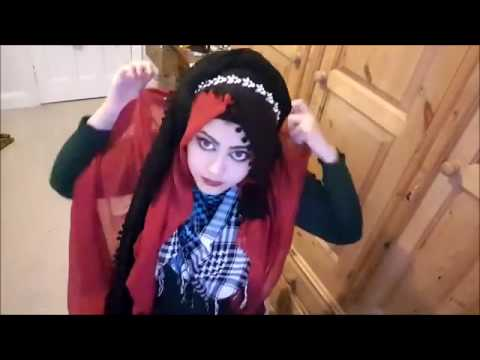 Layered 2 scarf Hijab and Niqab Look Option Party Hijab Tutorial 2016