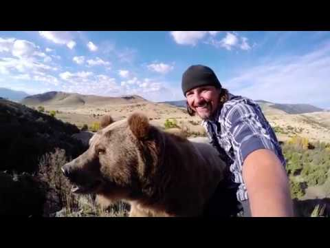 Man Attempts To Hug a Wild Grizzly Bear. What Happens Next Stunned Me.