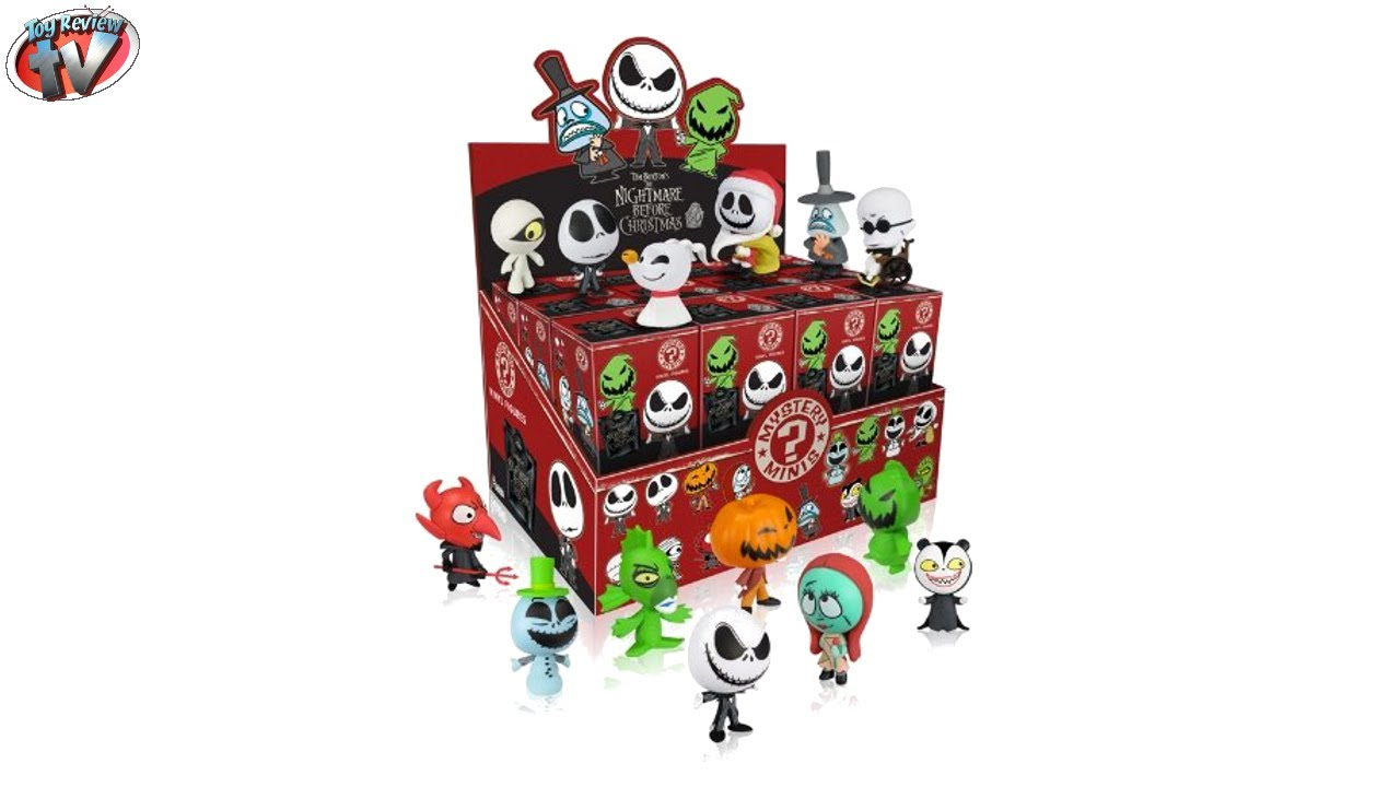 Nightmare Before Christmas Mystery Minis Vinyl Figures Unboxing ...
