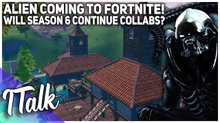 ALIEN Comes To Fortnite! Will Next Season Have Collabs? (Fortnite Battle Royale)