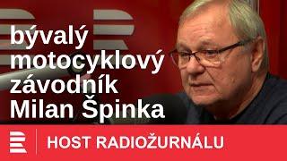 Milan Špinka: Na motorce se nebrzdí, ale závodí. Motorku jsem nikdy neutopil