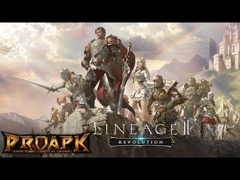 Lineage2 Revolution Max Settings - iOS/Android Gameplay (Open World MMORPG)