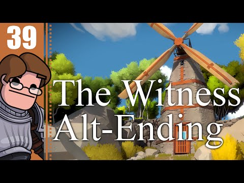 Let's Play The Witness Part 39 - Alternate Ending