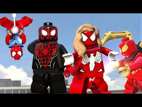 МНОГО ПАУЧКОВ - LEGO Marvels Avengers (DLC)