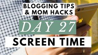 Take a Social Media Break and Have a Smartphone Detox! ● Blogging Tips & Mom Hacks Series DAY 27