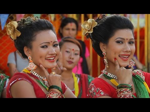 New Teej ko Darkhane bela 2072/2015 तीजको दरखाने बेला by Anu Gurung & Hari Bista Full HD
