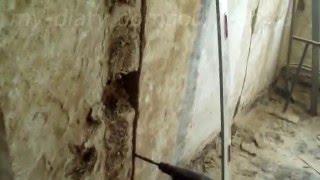 арка , как укрепить и убрать проем в стене.ч  1(В видео показано как укрепить и убрать проем в глинобитной несущей стене для возведения, в будущем, арки...., 2016-02-24T10:05:03.000Z)