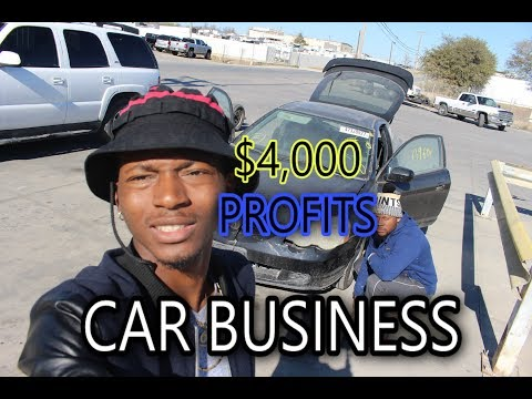 HOW I FLIP 2K TO 6 THOUSANDS DOLLARS CAR BUSINESS VLOG