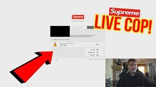 SUPREME CHAMPION SS18 WEEK 5 LIVE COP! SUPREME CHAMPION SUCCESS!! - HOW TO COP SUPREME MANUALLY