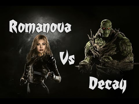 Romanova (Black Canary) vs. Decay (Swamp Thing) Injustice 2 Matches