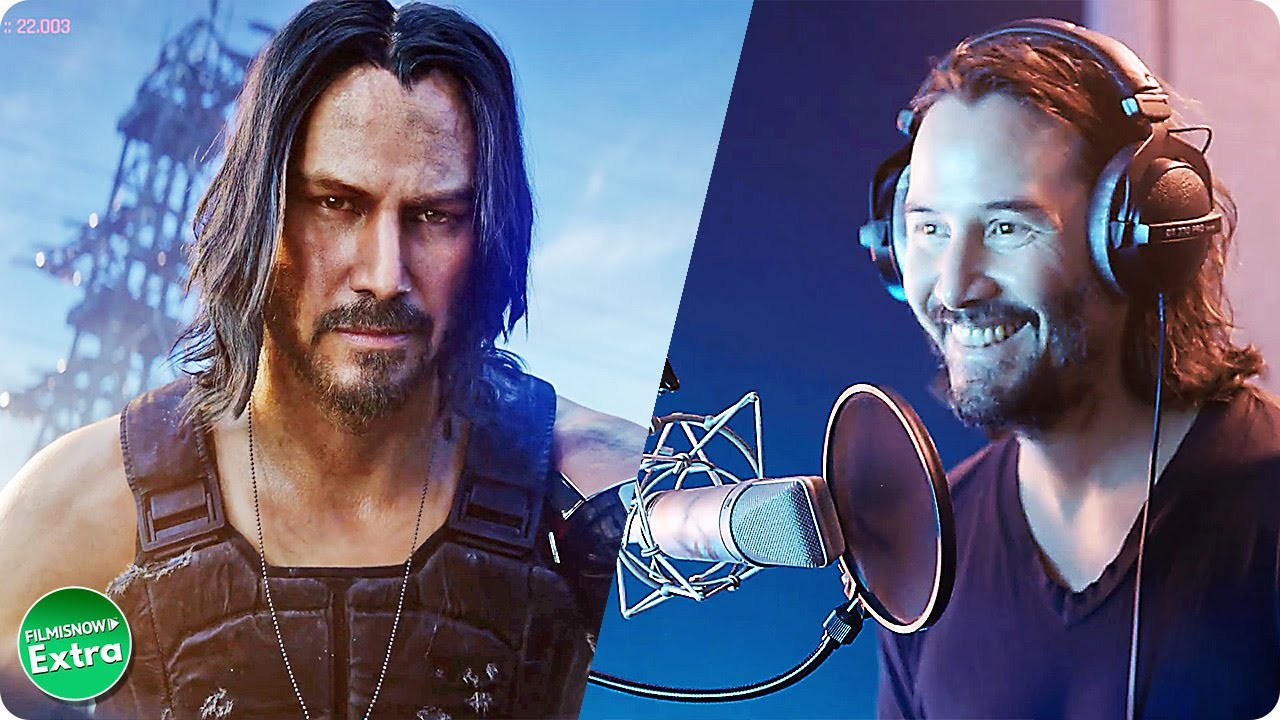 CYBERPUNK 2077 | Keanu Reeves is Johnny Silverhand (Video Game)