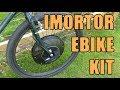 Turn an old bike into an ebike - cheap & easy IMortor conversion kit