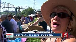 Nashville Kicks Off Day 1 Of CMA Fest
