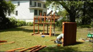Mount Rainier Swing Set Installation Installer