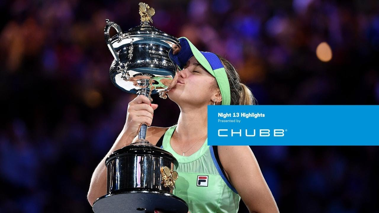 Sofia Kenin claims maiden Grand Slam title | Australian Open 2020 Day 13