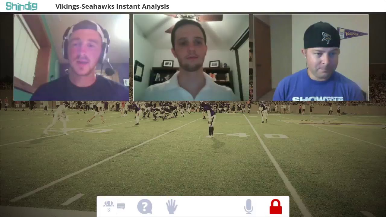 Rapid Reaction: Seahawks at Vikings