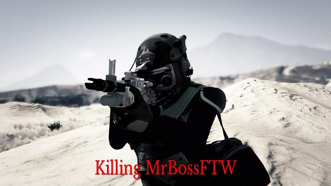 Download RIP MrBossFTW Aka MrClickBaitFTW | GTA 5 Online Killing MrBossFTW (Rage Quit) Lol *Read Desc*