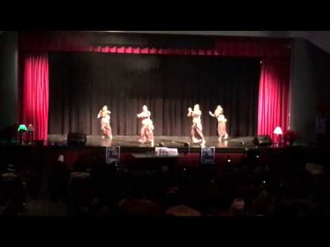 Nepali dance by Georgia group in Cincinnati, Ohio
