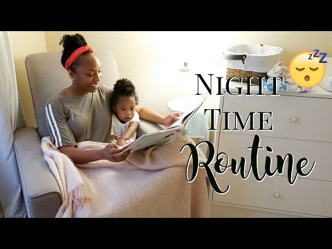 REALISTIC MOMMY NIGHT TIME ROUTINE!   BEDTIME ROUTINE   SINGLE MOM & TODDLER