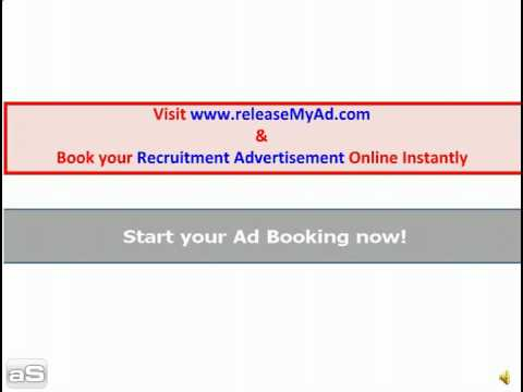 Book Employment, Recruitment, Job classified ads
