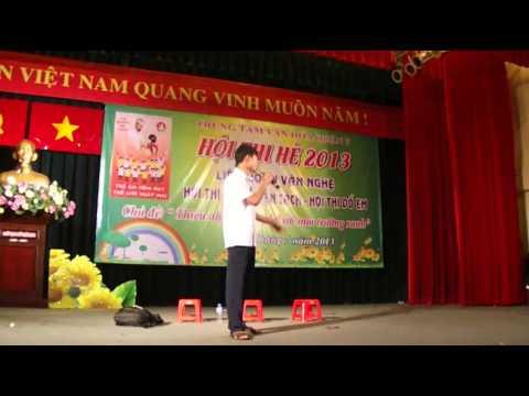 Hội thi kể chuyện theo sách hè 2013 Phường Phú Mỹ p1