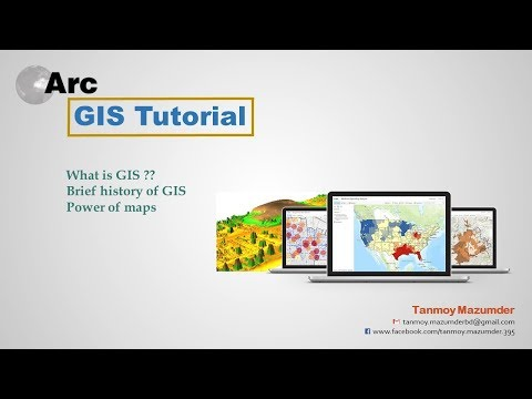 1. What is GIS, It's history and Power of Maps