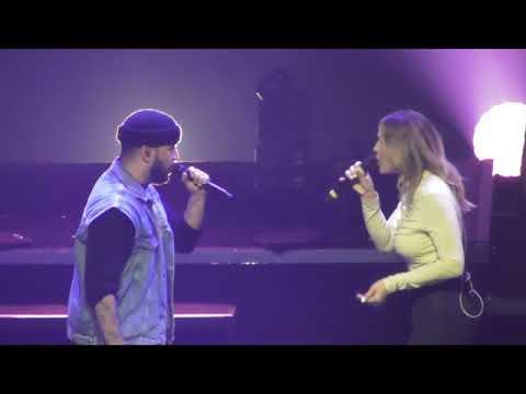 SLIMANE duo VITAA a fleur de toi concert Bruxelles Forest National 04052018