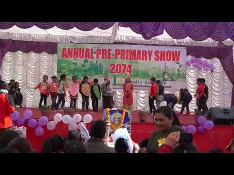 """Healthy Food Vs Junk Food""-  Drama Performance By Class One Students."