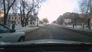 Разборка на дороге ( ХАБАРОВСК )