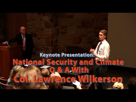Q&A with Colonel Wilkerson on National Security and Climate Change, Why They Are Connected