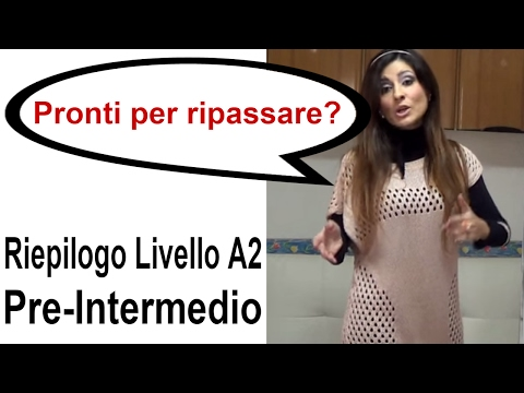 One World Italiano - Riepilogo Livello Pre-intermedio (A2)