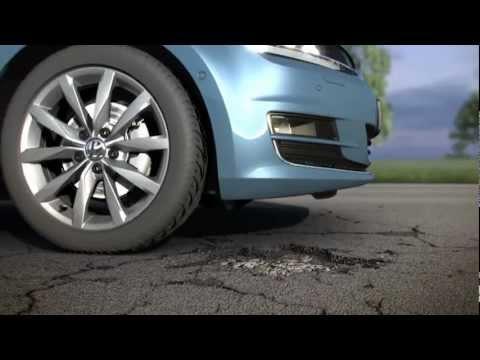 VW Golf 7 - Animation Adaptive Fahrwerksregelung DCC (2013)