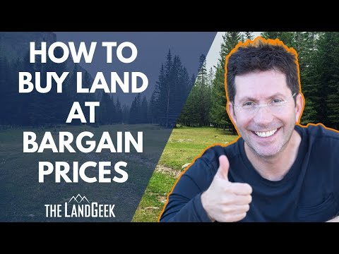 How to Buy Land at Bargain Prices