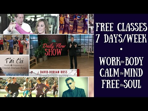 The Flow Show - A New Taiji (Tai Chi) / Qigong Workout EVERY DAY