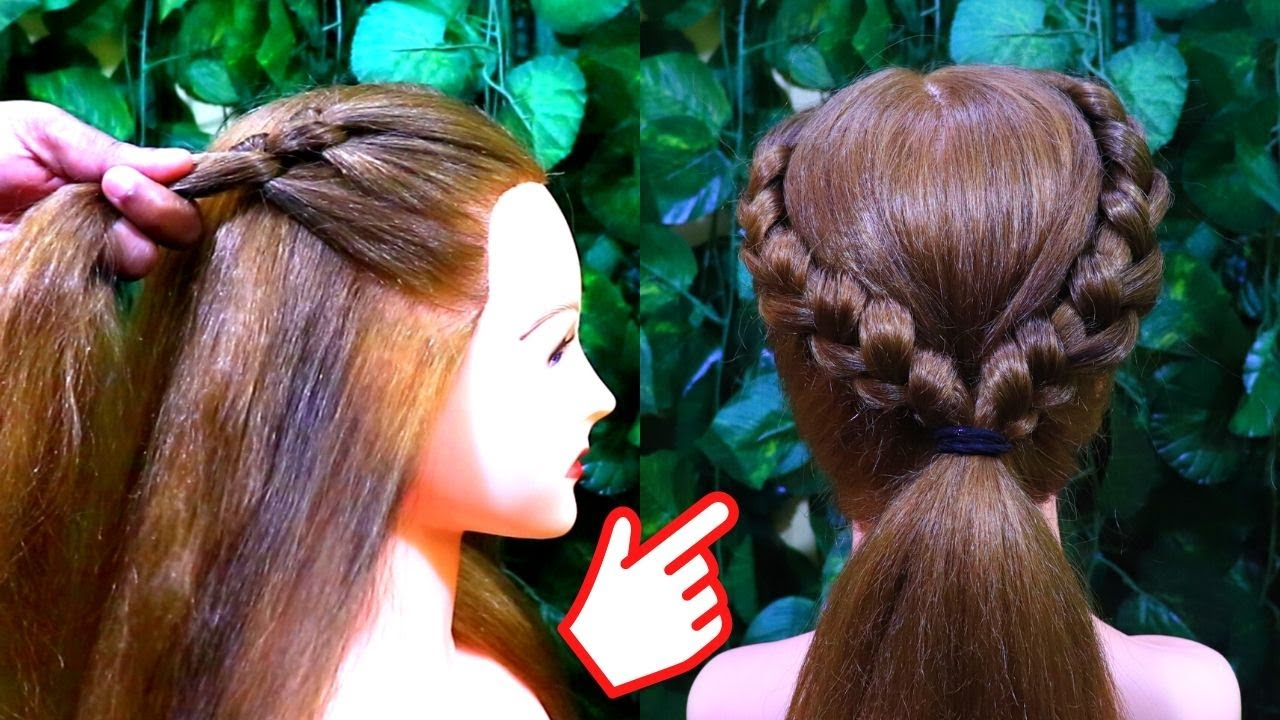 New hairstyle for wedding and party | Trending hairstyle | Party hairstyle | KGS Hairstyles