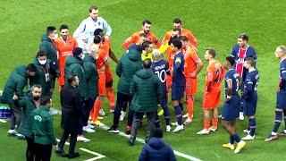 Судья сорвал матч ПСЖ Истанбул что случилось Все подробности скандала