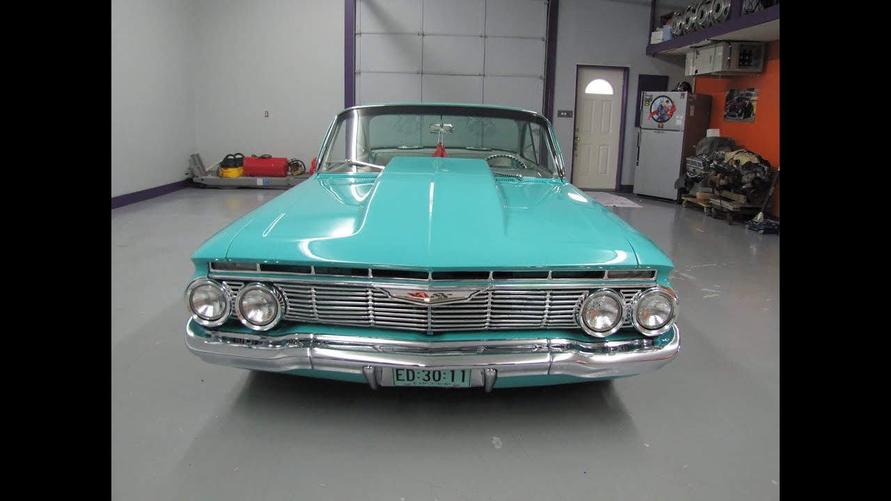 1961 Chevy Belair with AIR RIDE CLASSIC MUSCLE CARS SOLD @ Eric\'s ...