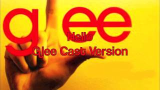 Glee Hello with lyrics NEW SONG