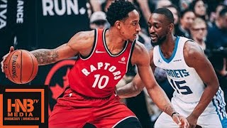 Toronto Raptors vs Charlotte Hornets Full Game Highlights / March 4 / 2017-18 NBA Season