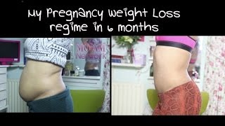 My Pregnancy Weight Loss Regime Before and After
