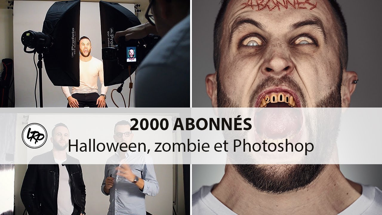 ???? SHOOTING PHOTO PORTRAIT 2000 ABONNÉS : HALLOWEEN & PHOTOSHOP
