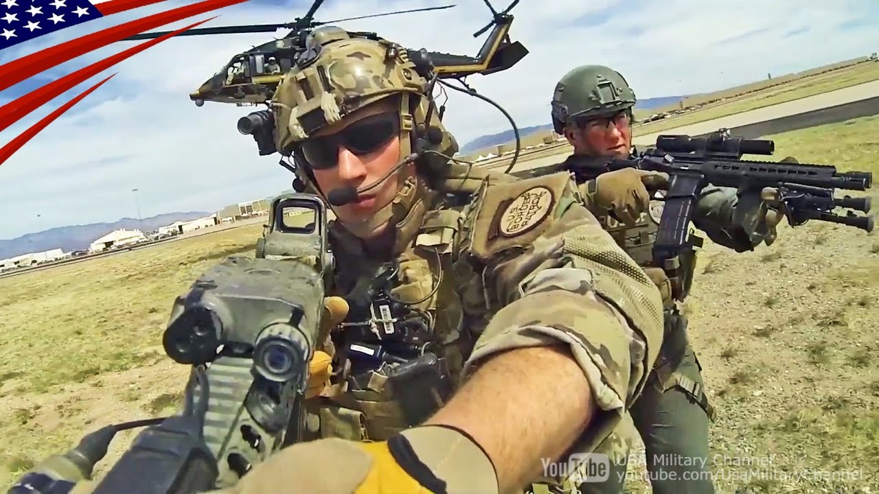 特殊部隊の犯人逮捕デモンストレーション アメリカ国境警備隊 cbp