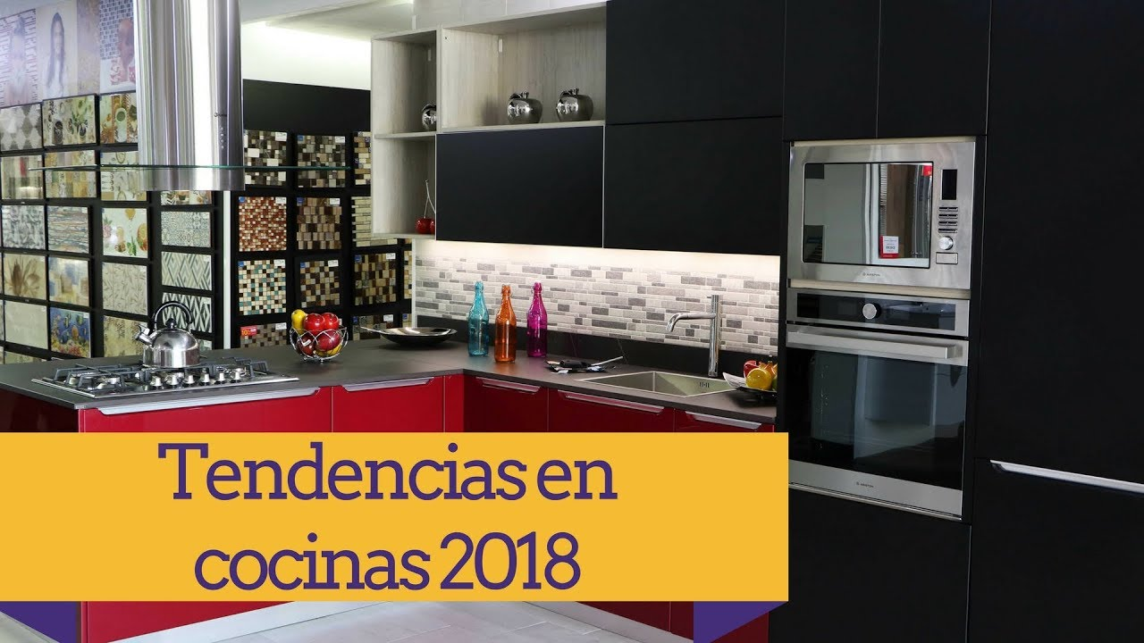 Tendencias en cocinas para el 2018 youtube - Tendencias en cocinas ...