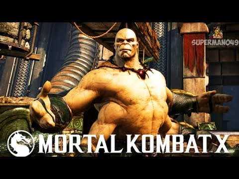 GORO WITH THE INSANELY BRUTAL FINISH... - Mortal Kombat X:
