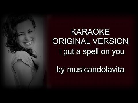 I put a spell on you (Annie Lenox) - karaoke