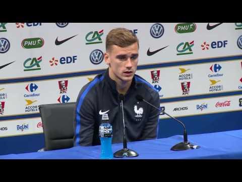 Euro 2016 - Conférence de presse Antoine Griezmann après France Irlande