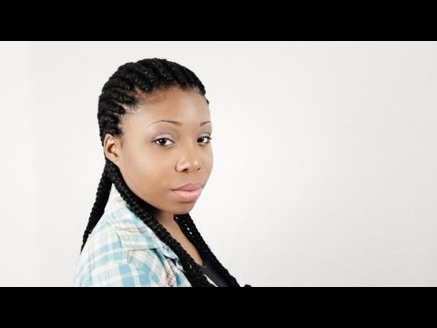 How To Braid Cornrows With Extensions Full DVD Tutorial