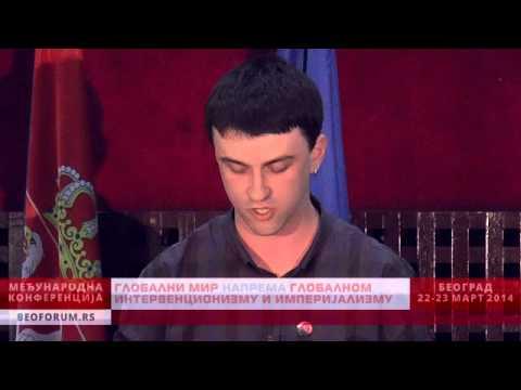 ALEKSANDAR ĐENIĆ (SERBIA, SKOJ) - (Global Peace vs. Global Interventionism and Imperialism)