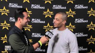 "TI talks ""Where They At Doe"" going viral at Cali Christmas 2014"